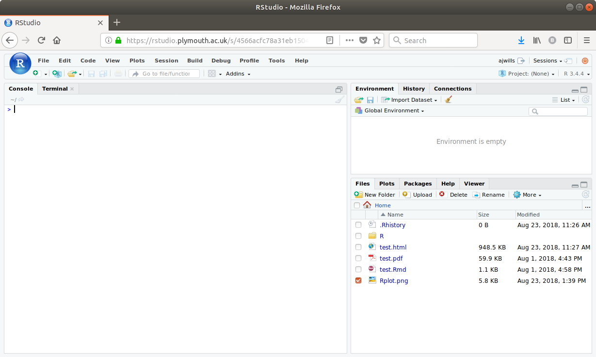 Using RStudio projects   rminr